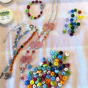 Other - Bead jewelry and crafting collection.